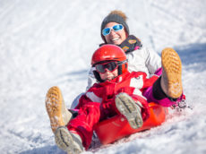 New sledding hills at Ignace-Bourget Park